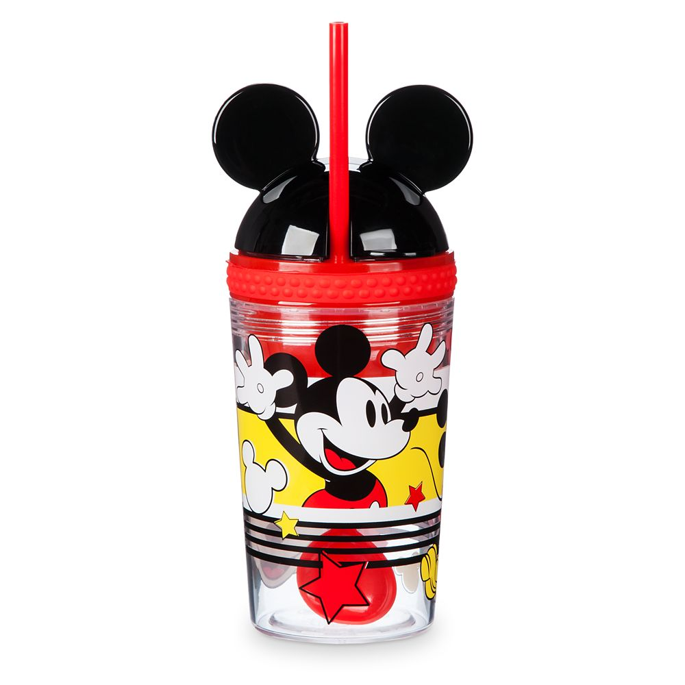 Mickey Mouse Tumbler with Snack Cup and Straw – Disney Eats