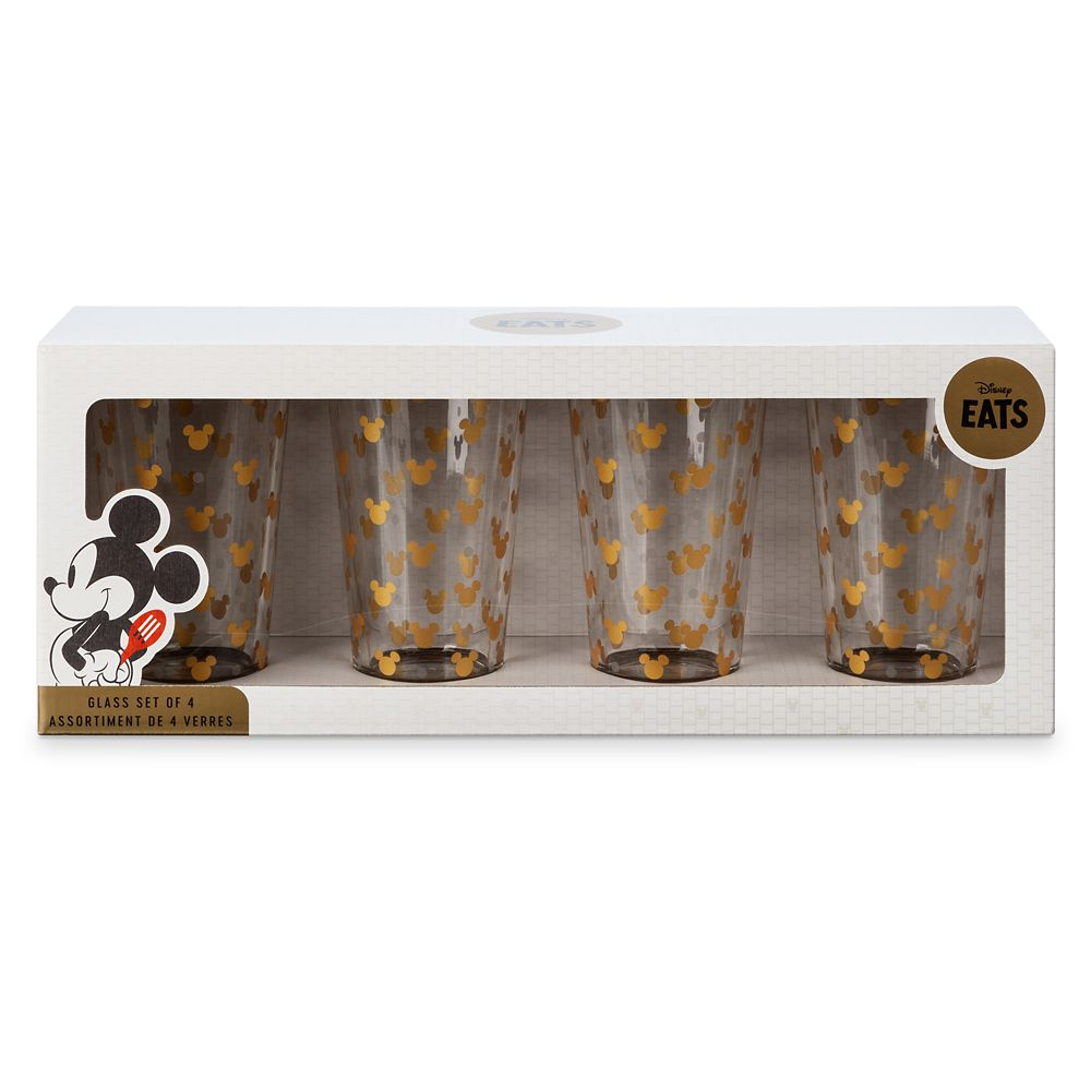 Mickey Mouse Icon Glass Set – Disney Eats