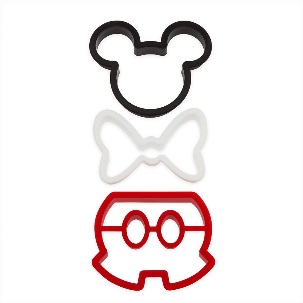 Mickey and Minnie Mouse Silicone Breakfast Mold Set – Disney Eats