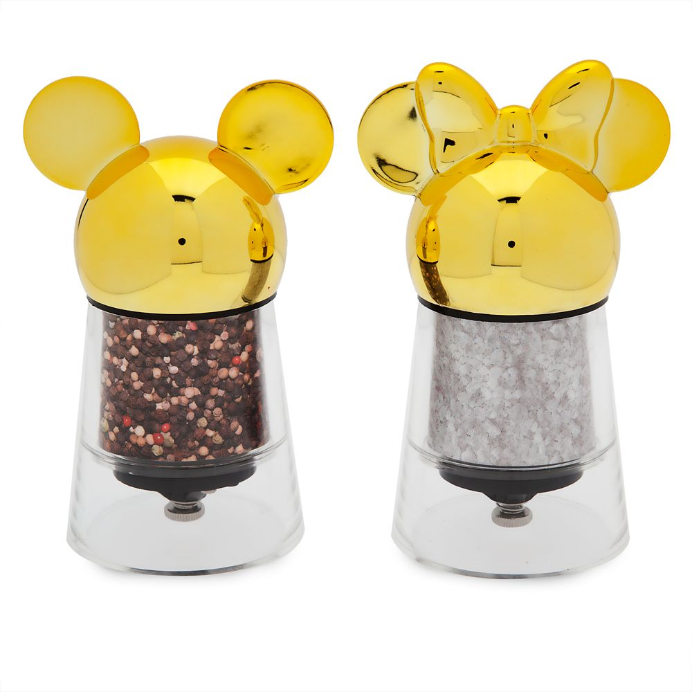 Mickey and Minnie Mouse Salt and Pepper Mill Set – Disney Eats