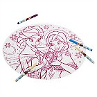 Frozen Coloring Placemat