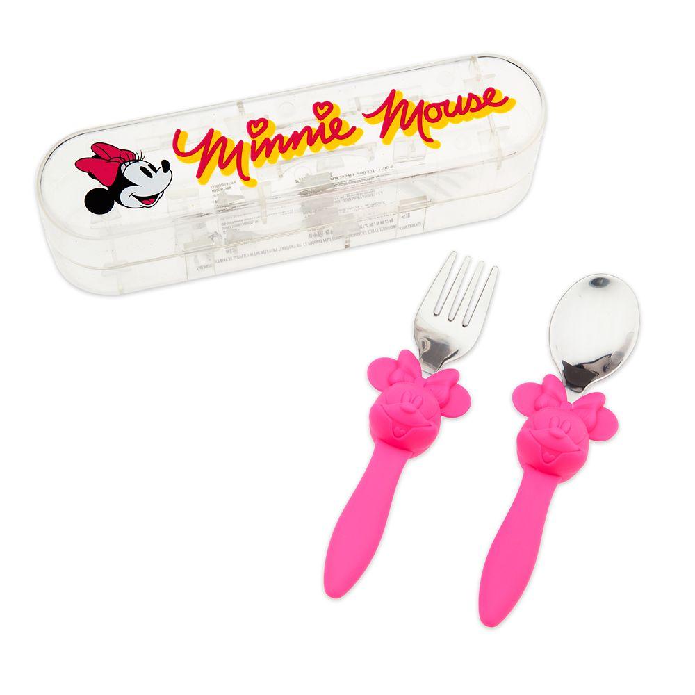 Minnie Mouse Flatware Set for Kids – Disney Eats