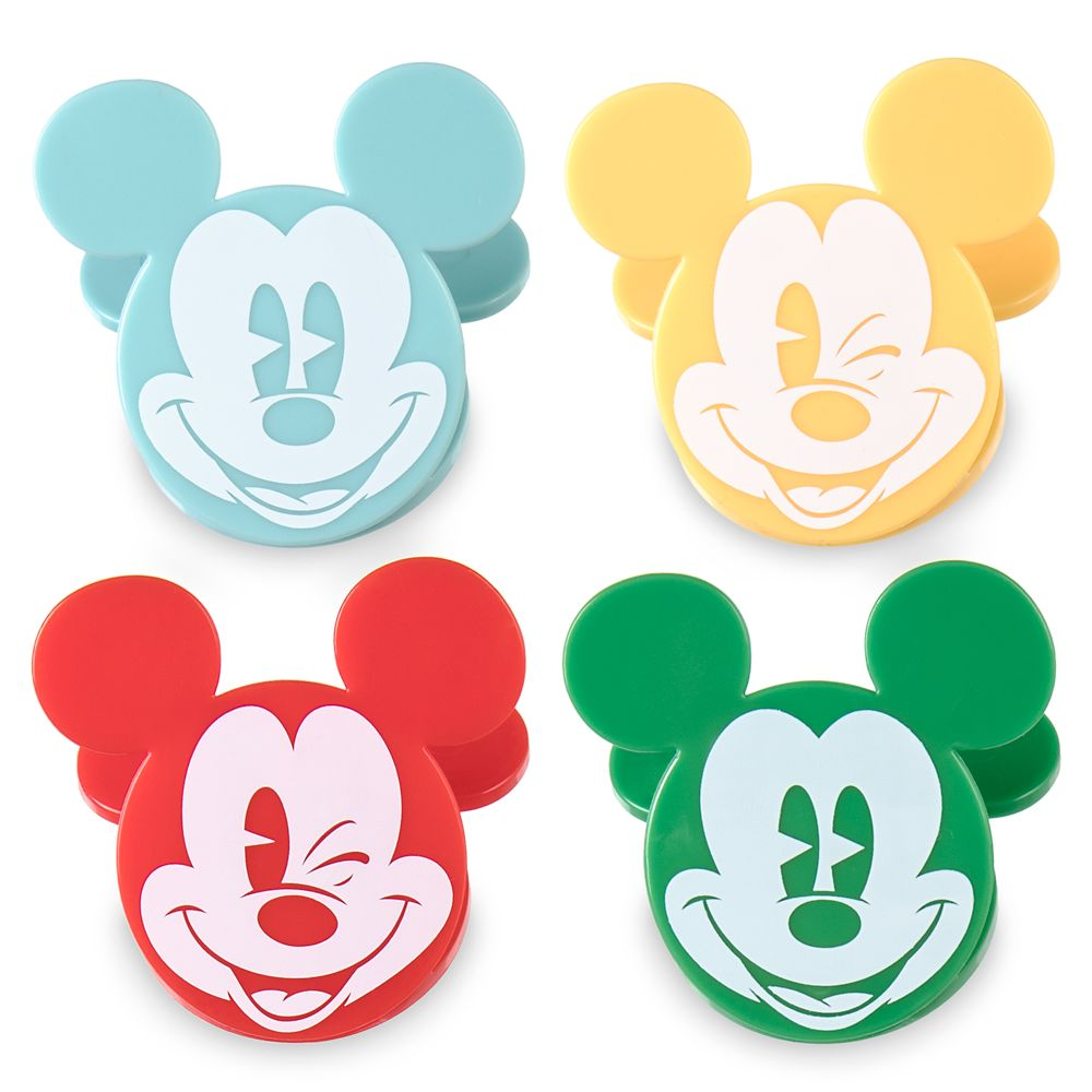 Mickey Mouse Bag Clips Set – Summer Fun