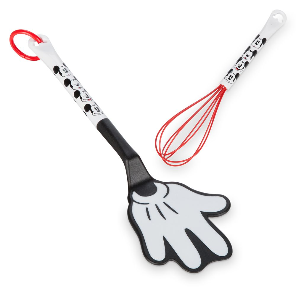 Mickey Mouse Spatula and Whisk Set – Disney Eats