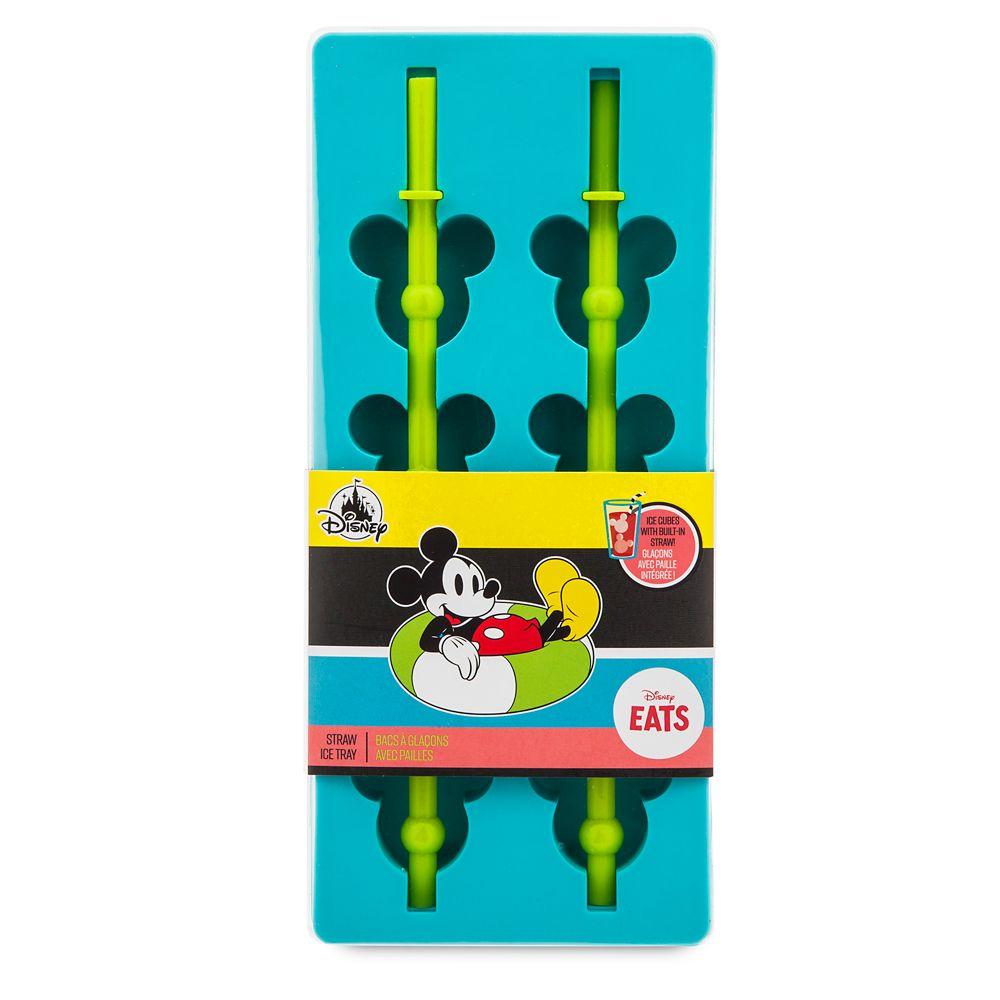 Mickey Mouse Straw Ice Tray – Disney Eats