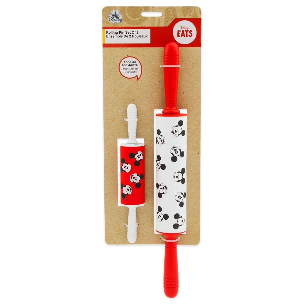 Mickey Mouse Rolling Pin Set – Disney Eats