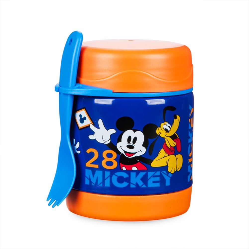 Mickey Mouse Hot and Cold Food Container