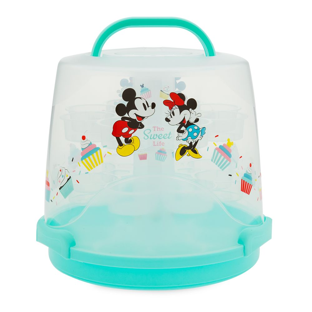 Mickey and Minnie Mouse Cupcake Stand and Caddy – Disney Eats