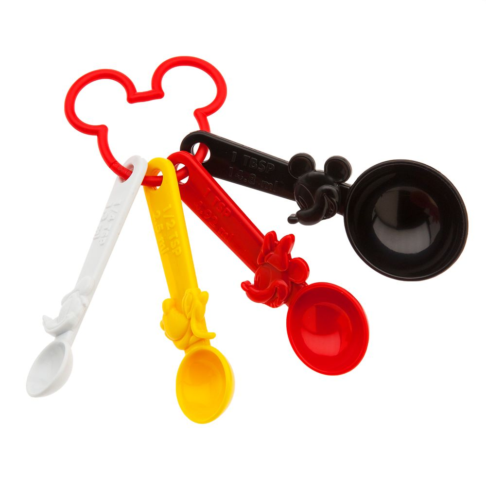 Mickey Mouse and Friends Measuring Spoon Set – Disney Eats