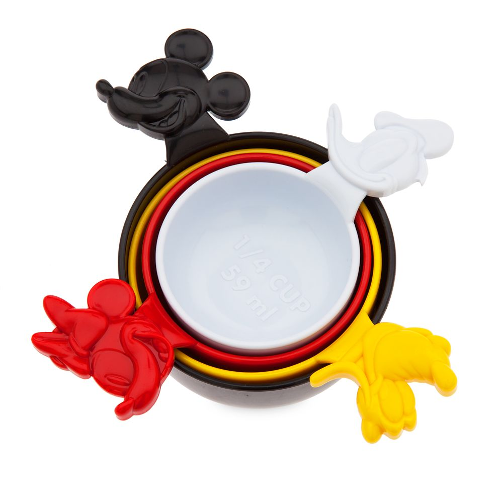 Mickey Mouse and Friends Measuring Cups – Disney Eats