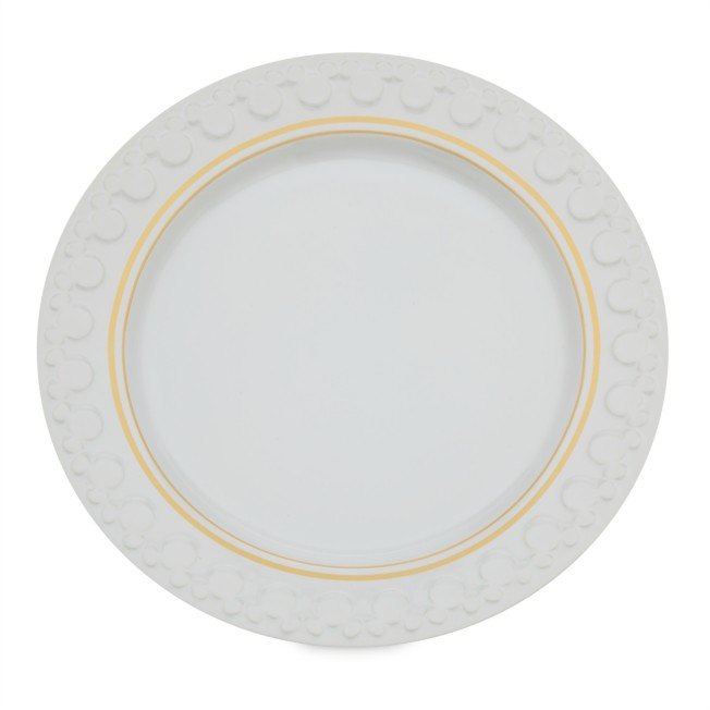 Mickey Mouse Icon Dinner Plate – Disney Eats
