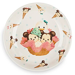 Mickey Mouse and Friends ''Tsum Tsum'' Plate