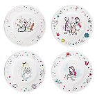 Disney Animators' Collection Melamine Plate Set
