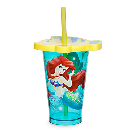 The Little Mermaid Tumbler with Straw - Small