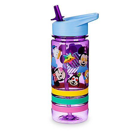 Mickey and Friends Emoji Water Bottle