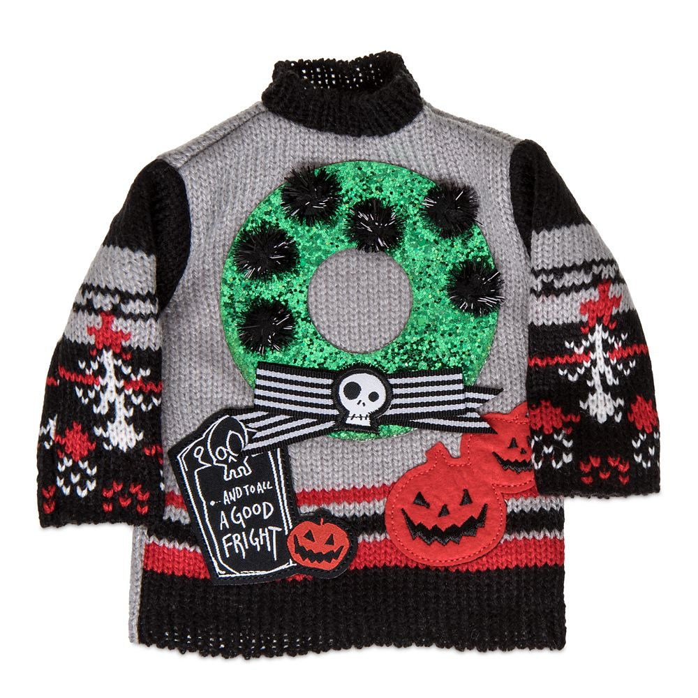 The Nightmare Before Christmas Holiday Bottle Sweater