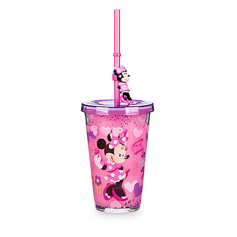 Minnie Mouse and Daisy Duck Tumbler with Straw