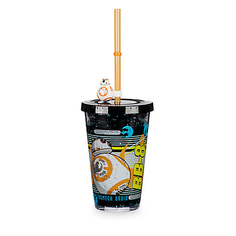 BB-8 Tumbler with Straw - Small - Star Wars