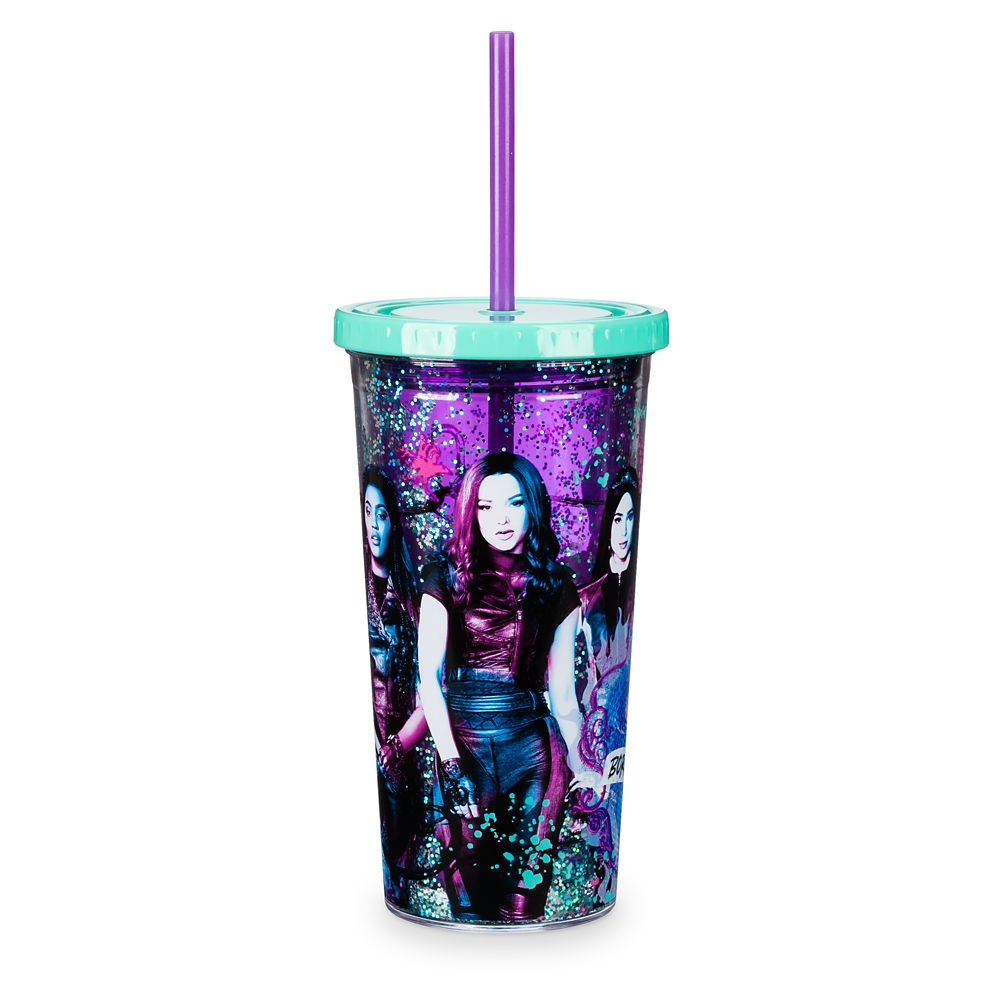Descendants 3 Tumbler with Straw – Large