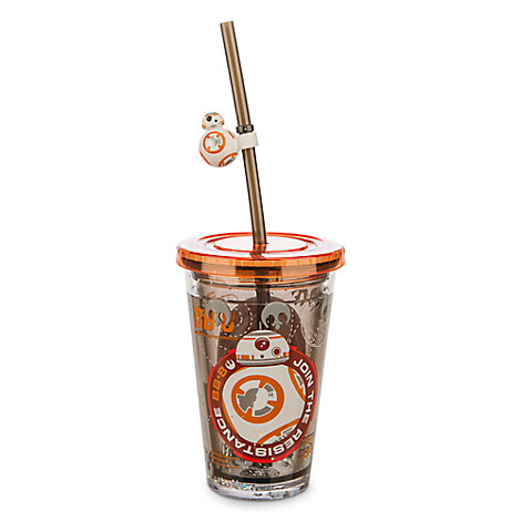 BB-8 Tumbler with Straw - Small - Star Wars: The Force Awakens