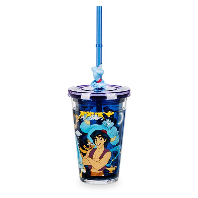 Disney Aladdin Tumbler with Straw