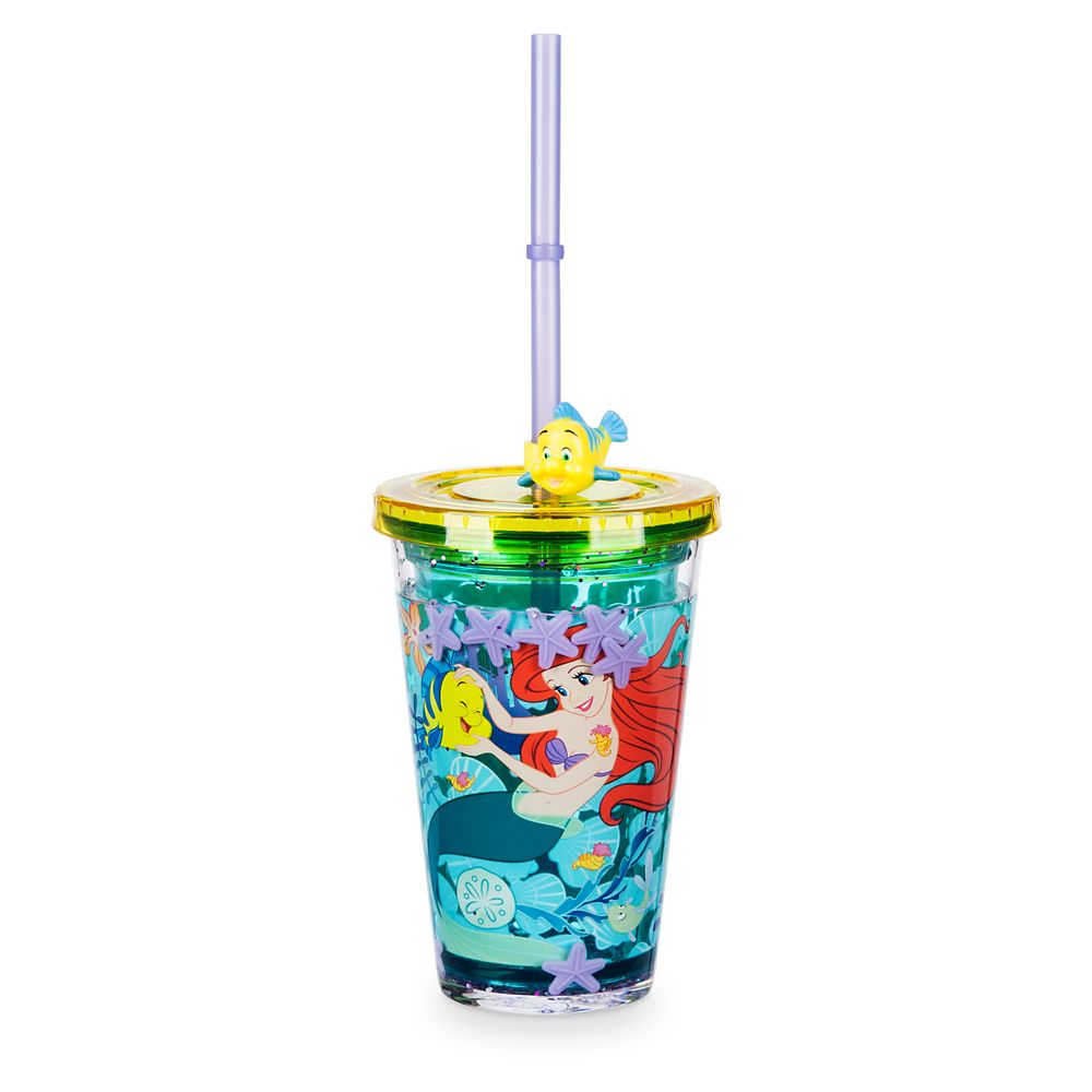 Ariel Tumbler with Straw Official shopDisney
