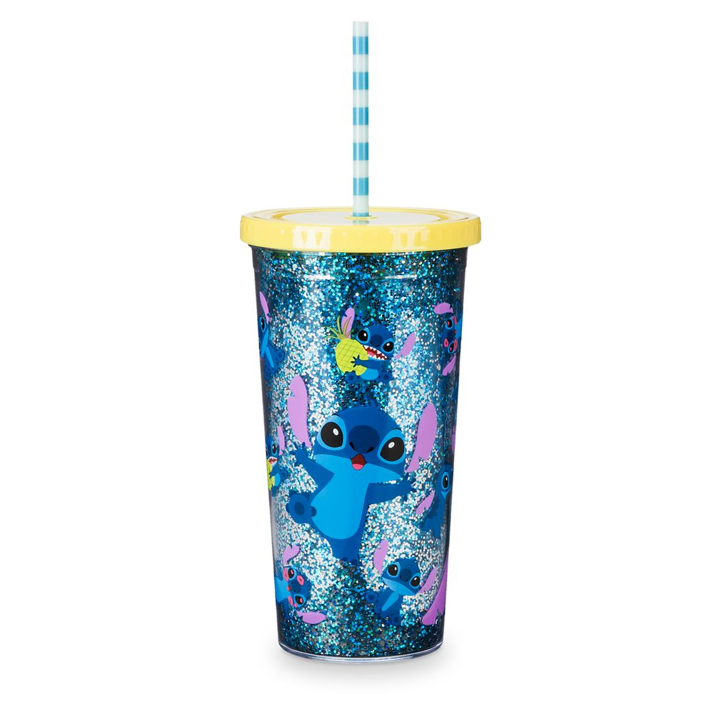 Stitch Tumbler with Straw – Large