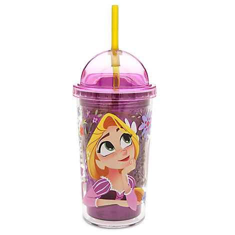Rapunzel Domed Tumbler with Straw - Tangled: The Series