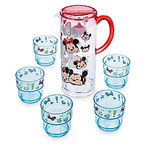 Mickey and Minnie Mouse ''Tsum Tsum'' Pitcher and Tumbler Set