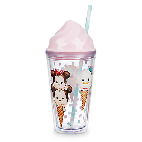 Mickey Mouse and Friends ''Tsum Tsum'' Tumbler with Straw