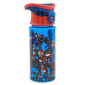 Marvels Captain America: Civil War Water Bottle