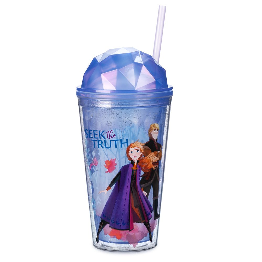 Frozen 2 Tumbler with Straw