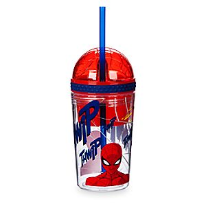 Spider-Man Tumbler with Snack Cup and Straw - Disney Eats 6502047923980P