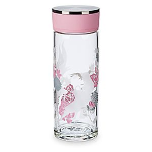 Sleeping Beauty Glass Water Bottle - 60th Anniversary