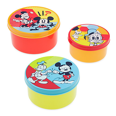 Mickey Mouse and Friends Food Container Set - Summer Fun