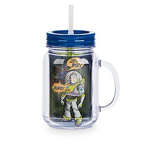 Toy Story Jelly Jar with Straw - Small