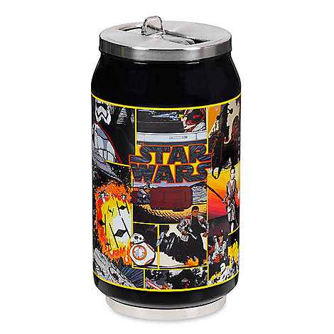 Star Wars: The Force Awakens Reusable Sip-Top Soda Can