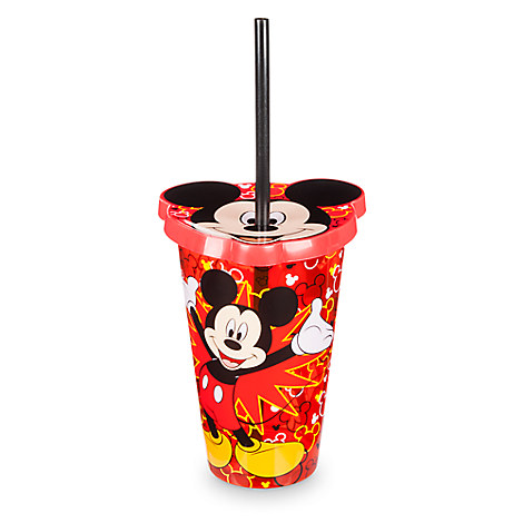 Mickey Mouse Tumbler with Straw - Small