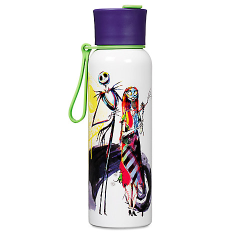 Tim Burton's The Nightmare Before Christmas Stainless Steel Water Bottle - $12.95 $10