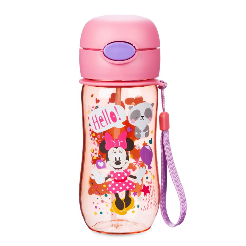 Minnie Mouse Flip-Top Water Bottle