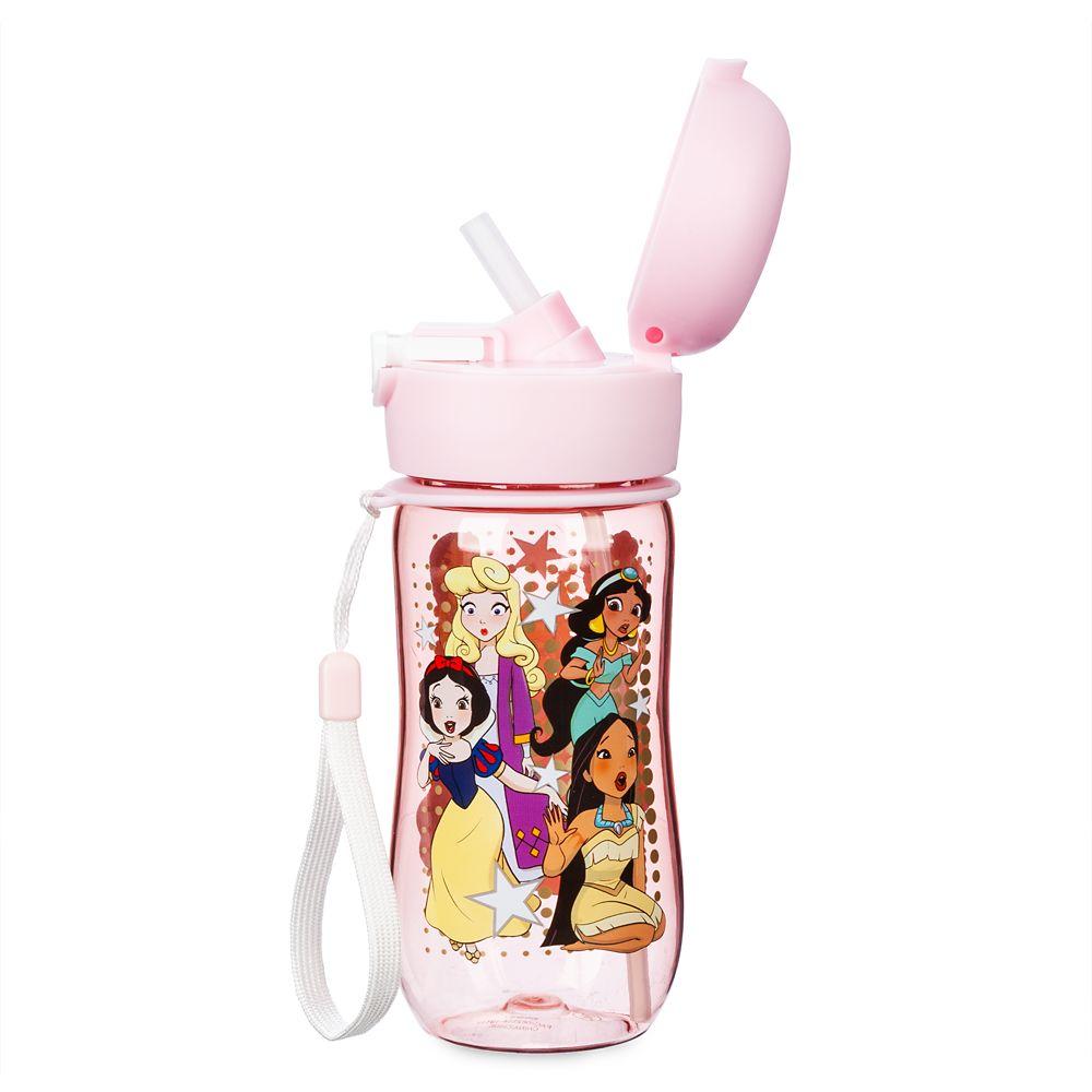 Disney Princess Flip-Top Water Bottle