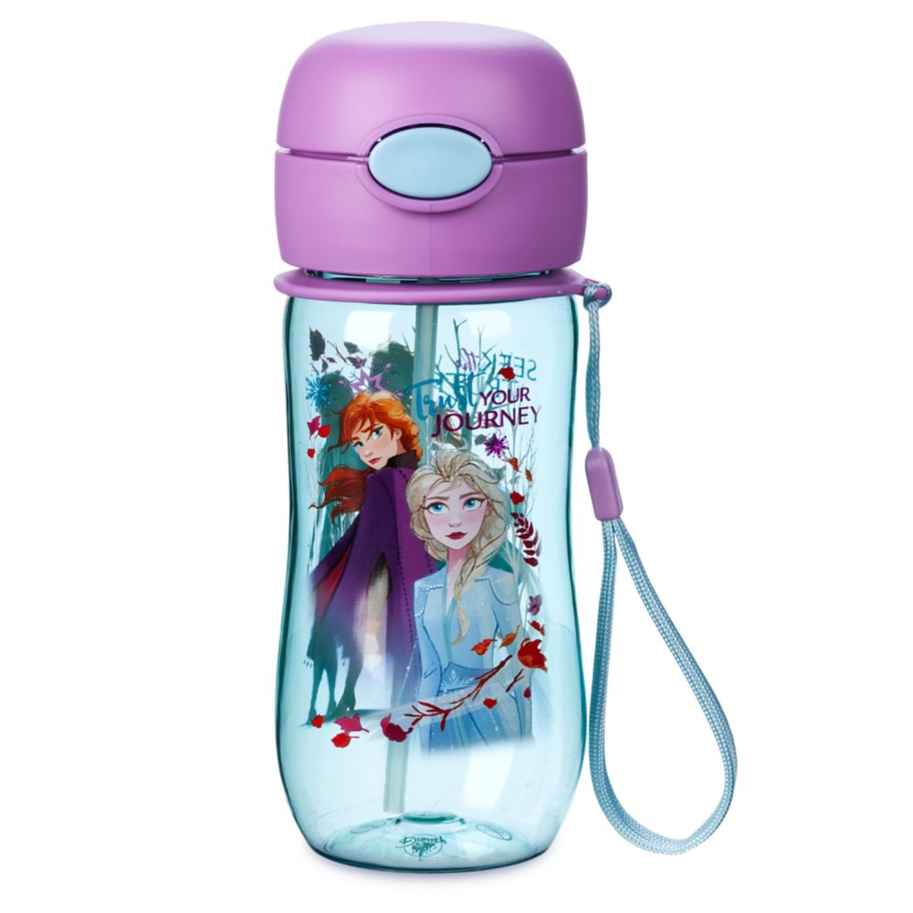 Frozen 2 Flip-Top Water Bottle