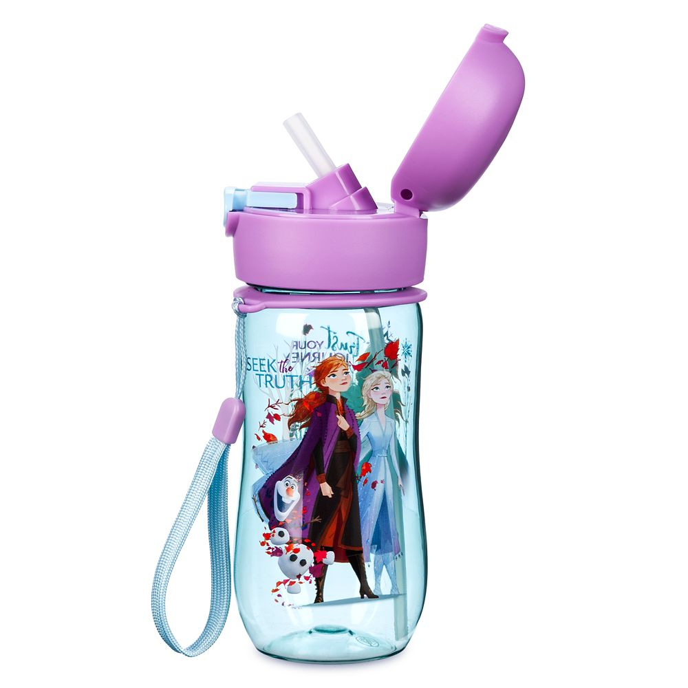Frozen 2 Flip-Top Water Bottle