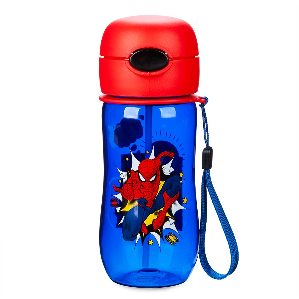 Spider-Man Flip-Top Water Bottle