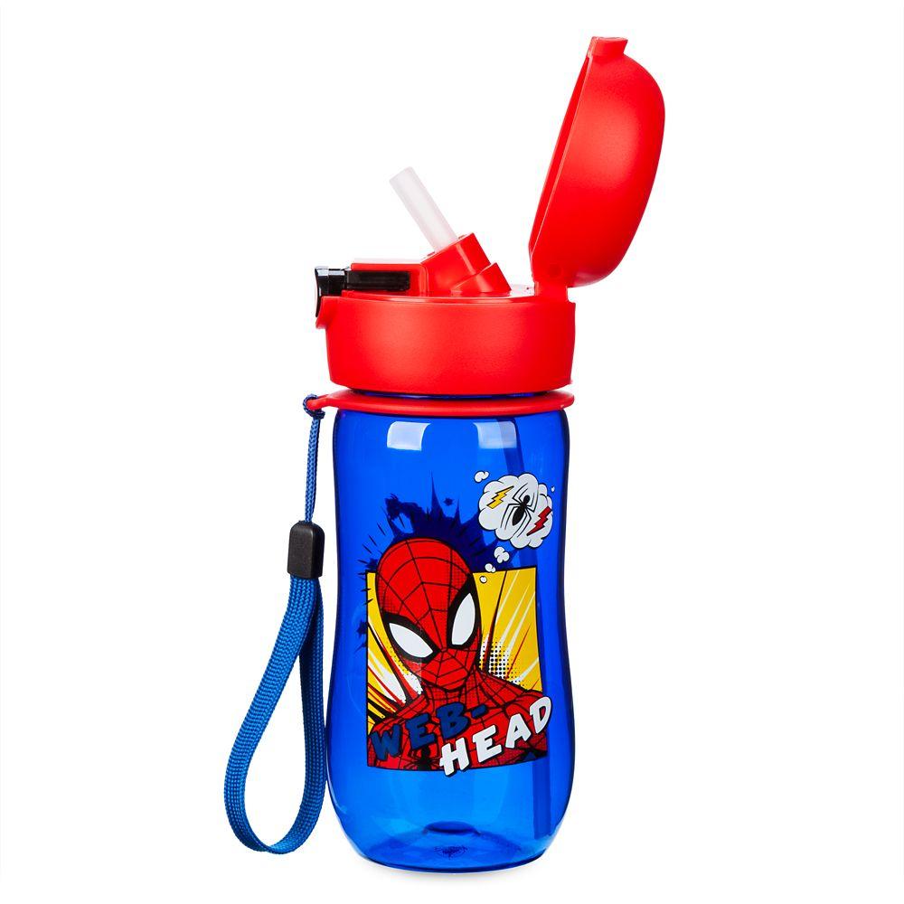 Spider-Man Flip-Top Water Bottle