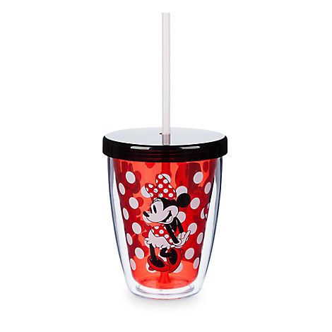 Minnie Mouse Tumbler with Color Changing Straw