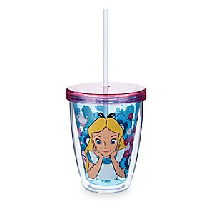 Alice Tumbler with Color Changing Straw
