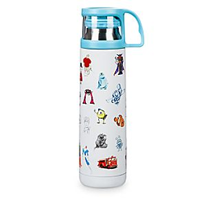 PIXAR Sketch Art Water Bottle