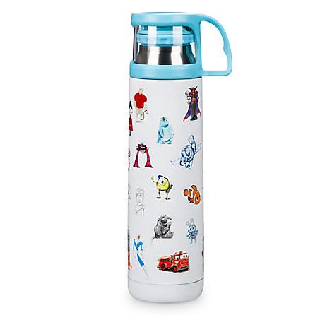 PIXAR Sketch Art Water Bottle