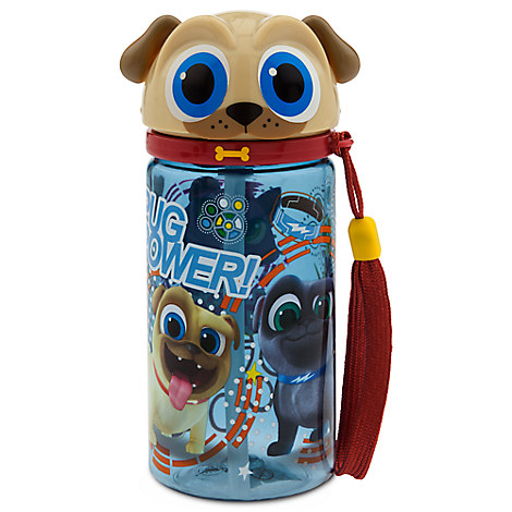 Rolly Water Bottle - Puppy Dog Pals - Small